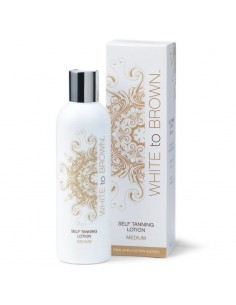 LOCIÓN AUTOBRONCEADORA MEDIA  (Self tanning lotion médium)